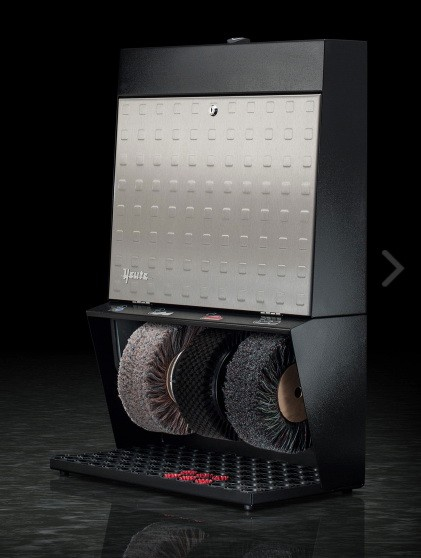 Машина для чистки обуви Heute Polifix 3 Steel Design