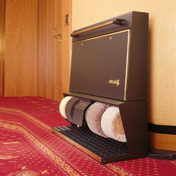 Машинка  для чистки обуви  Heute Polifix 4 Super, латунь