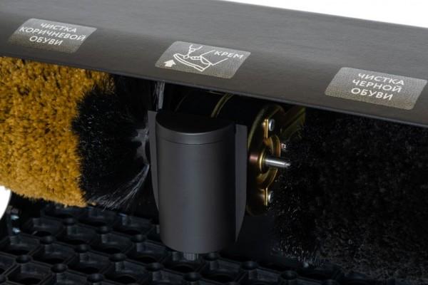 Машинка для чистки обуви Prestige Compact Black Leather (кожа)
