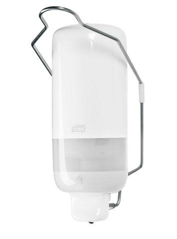 Tork диспенсер для жидкого мыла с локтевым приводом белый