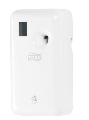 Tork диспенсер электронный для аэрозольного освежителя воздуха белый