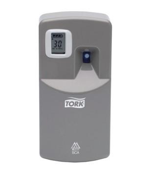 Диспенсер электронный Tork для аэрозольного освежителя воздуха серый