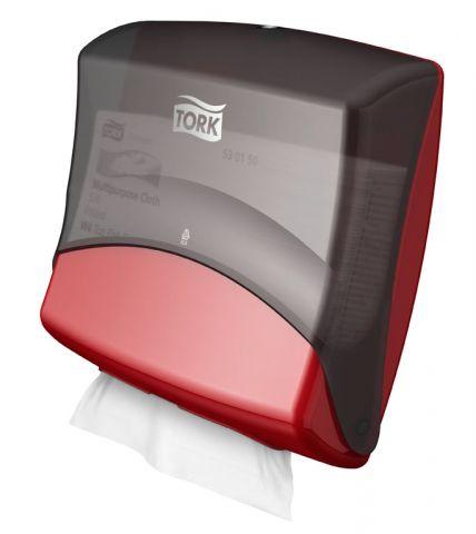 Tork Performance диспенсер для материалов в салфетках красный