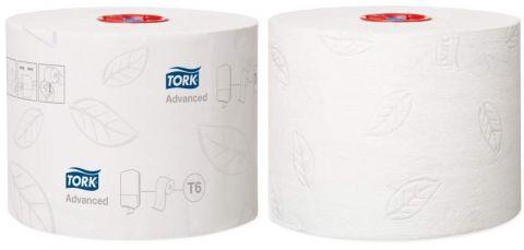 Tork туалетная бумага Mid-size в миди рулонах