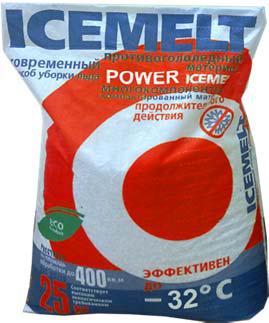 Противогололедный реагент Icemelt Power