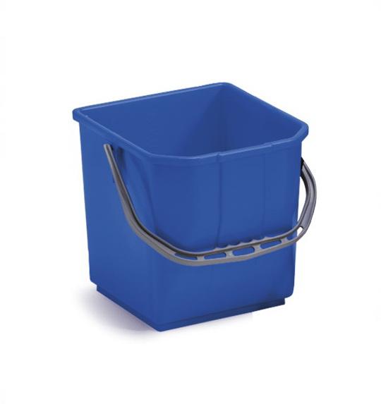 Ведро без отжима TTS Moplen 25л., синее
