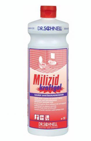Milizid Kraftgel Кислотное средство для генеральной очистки санитарных зон и влажных помещений