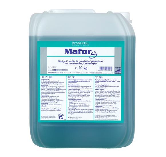 Mafor S Кислотный ополаскиватель для посудомоечных машин