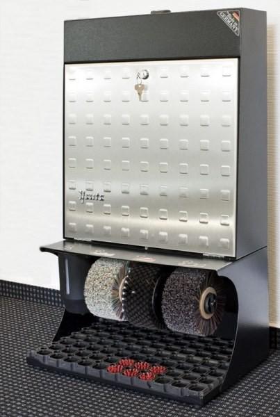 Машинка для чистки обуви  Heute Ronda 30 Steel Design