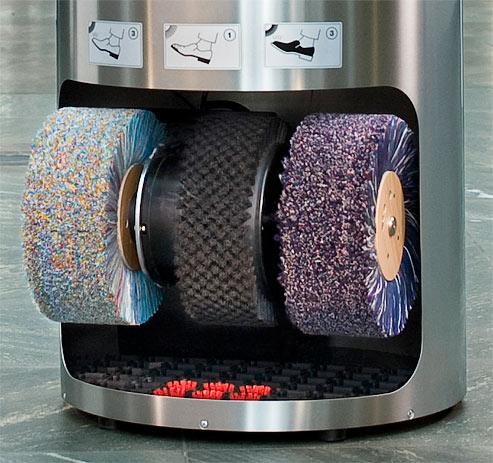 Машинка для чистки обуви Heute Ellipse Leder