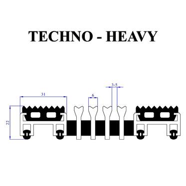 """Входное грязесборное покрытие """"Techno-Heavy"""""""