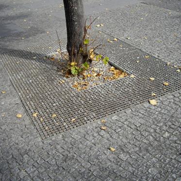 Приствольные решетки, решетки для деревьев, ячейка 33х11