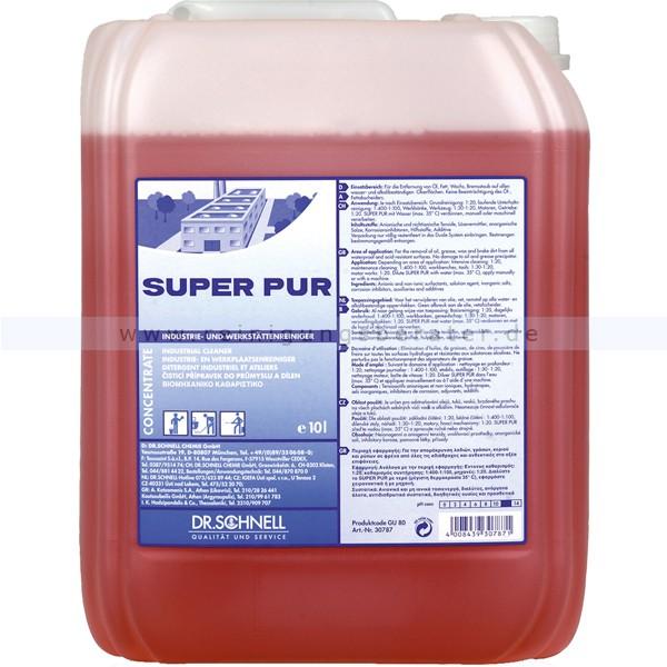 Super Pur Сильнощелочное средство для специальной очистки