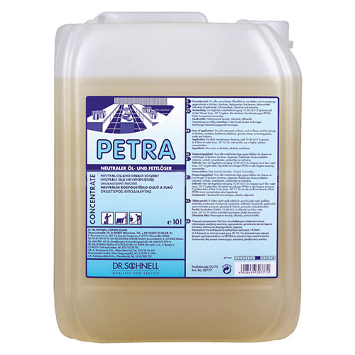 Petra Нейтральный растворитель масляных и жировых загрязнений