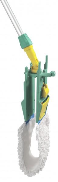 Ведро с отжимом и сливным отверстием TTS Action Pro 1х30л., желтое