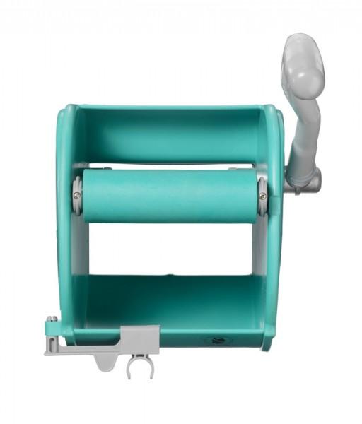 Ведро с отжимом и сливным отверстием TTS Action Pro 1х30л., синее
