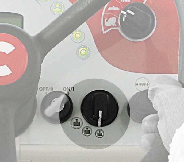 Аккумуляторная поломоечная машина Comac Ultra 100 GS BIFUEL AS