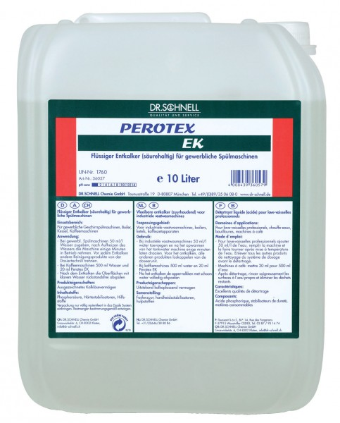 Perotex ЕК Средство для удаления накипи и отложений