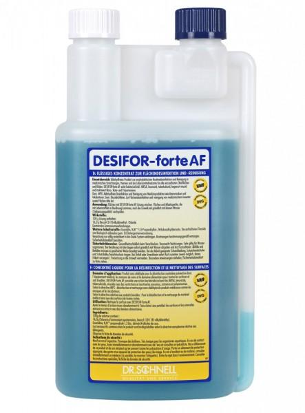 Desifor Forte AF Средство для дезинфекции и чистки водостойких поверхностей
