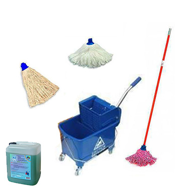Комплект для уборки полов Clean FLoor Mini